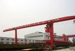 MHL5-20t电动葫芦门式起重机(L型)