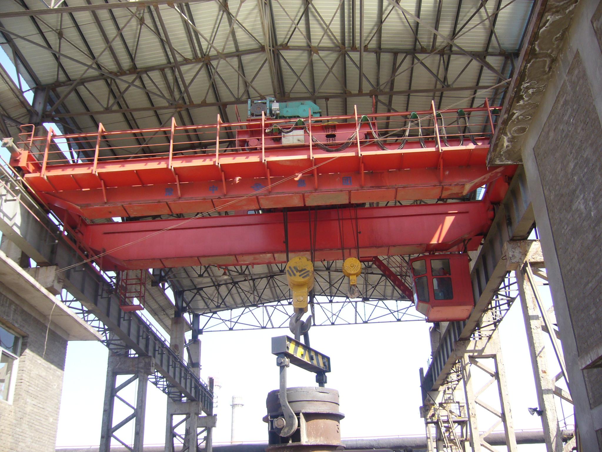 QDY5-74t通用桥式起重机(吊运熔融金属)